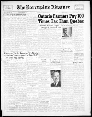 Porcupine Advance, 27 Apr 1950
