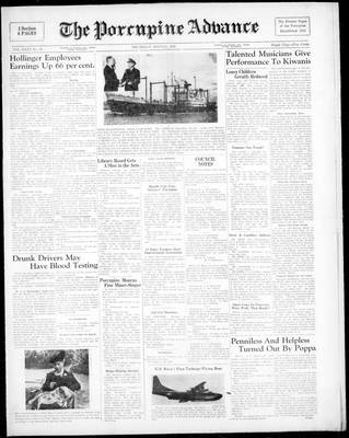 Porcupine Advance, 11 May 1950