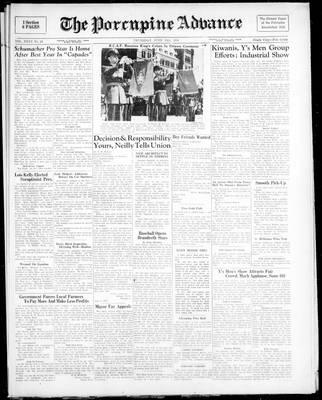 Porcupine Advance, 15 Jun 1950