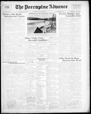 Porcupine Advance, 13 Jul 1950