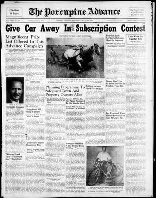 Porcupine Advance, 31 Jul 1947