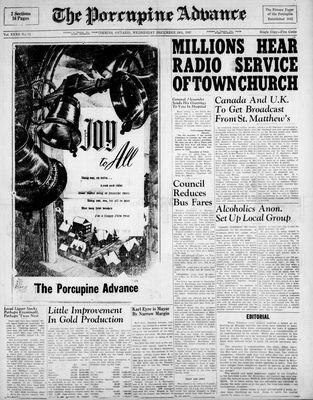 Porcupine Advance, 24 Dec 1947