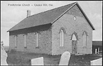Presbyterian Church - Quaker Hill, Ont.