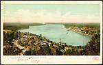 Down Niagara River from Queenston Heights.