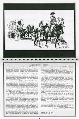 "Pelham Historical Calendar 2001: ""Agnes (Gless) Brown"""