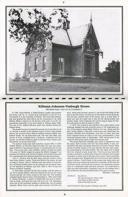 "Pelham Historical Calendar 1995: ""Kilman-Johnson-Vosburgh House"""