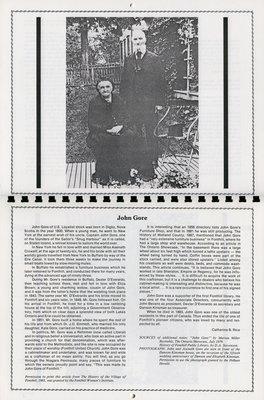 "Pelham Historical Calendar 1991: ""John Gore"""