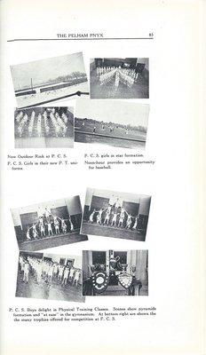 Pelham Pnyx 1937 - Collage of School Photographs