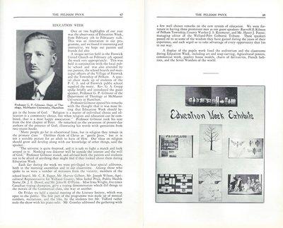 Pelham Pnyx 1939 - Education Week