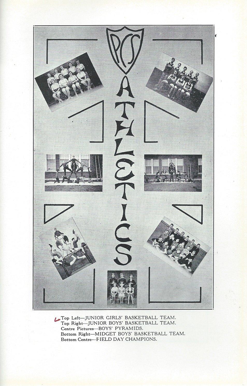 Pelham Pnyx 1939 - A Photograph of PCS Athletics Teams