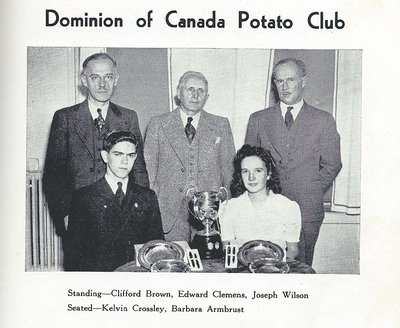 Pelham Pnyx 1943-44 - Photograph of the Dominion of Canada Potato Club