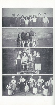 Pelham Pnyx 1943-44 - Photographs of Various School Societies