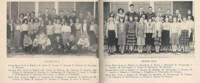 Pelham Pnyx 1949 - Class Photographs of Grade IX-A and Grade IX-B