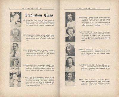 Pelham Pnyx 1949 - Graduation Class
