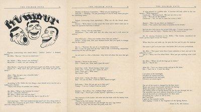 Pelham Pnyx 1949 - Humour Section