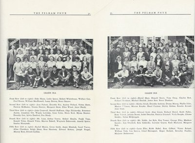 Pelham Pnyx 1950 - Class Photographs of Grade IXA and Grade IXB