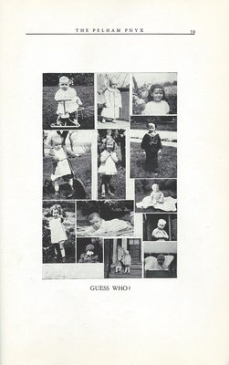 Pelham Pnyx 1950 - Photographs of Students as Infants