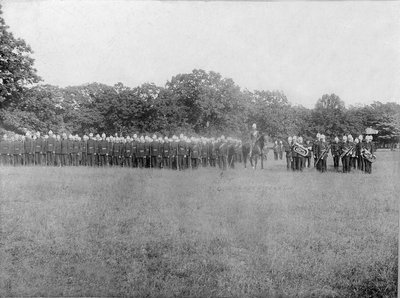 Halton Lorne Rifles, ca1881