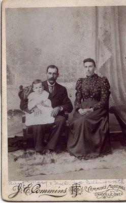 J.E. Cullingworth, Mary Ann (Joyce) Cullingworth, George Richard Cullingworth, 1894