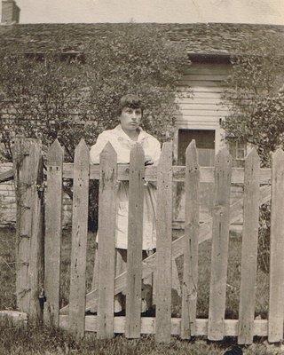 Ruth Irene Cullingworth in 1917