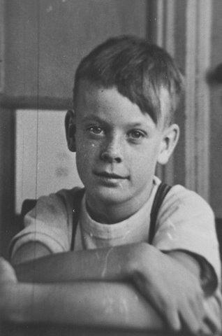 Edward Barber, 1948, Munn's School, S.S. #3A, Halton County, Trafalgar Township