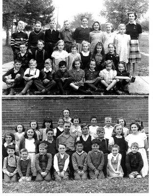 Munn's School Class Photos, ca1945 and 1947-48