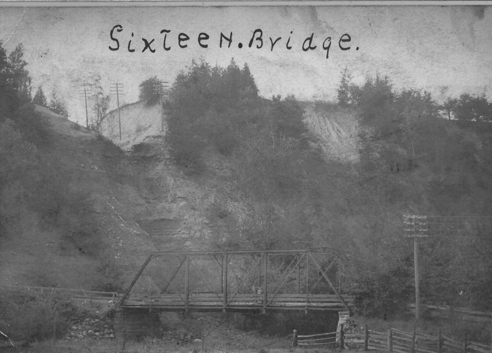 Sixteen Mile Creek 1885 Bridge