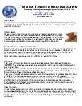 Trafalgar Township Historical Society Newsletter 2011 Spring