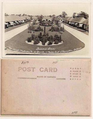 Postcard: Lexena Inn