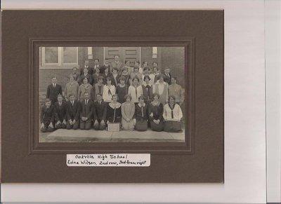 Oakville High School, April 1925