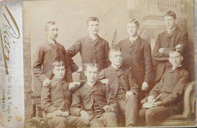 Edward McCann Jr., High School Class Photograph