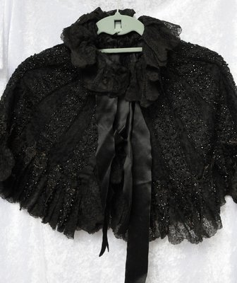 Cape Worn by Alisemon (Hardy) Wilson and Child's Dress