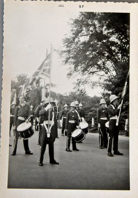 Trafalgar Boys Band, Oakville Centennial Celebrations, 1957