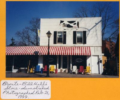 Bill Hill's Store in Bronte, 1999