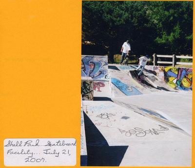 Shell Park Skateboard Facility, 2007