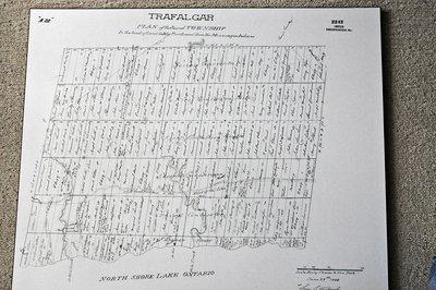 1806 Trafalgar Township Map