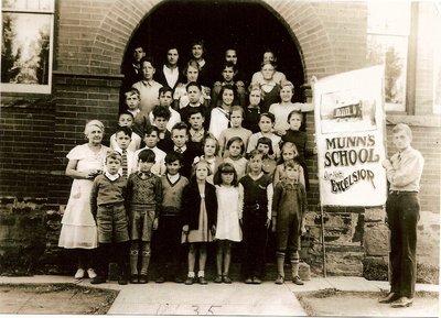 Munn's School, S.S. #3A Trafalgar, 1935
