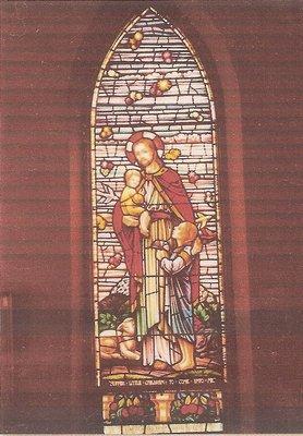 Palermo United Church, Carola and Edwin Darlington Memorial Window