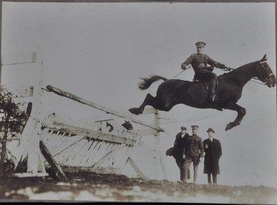 John Thomas (Jack) Moulding Jumping, The Great War
