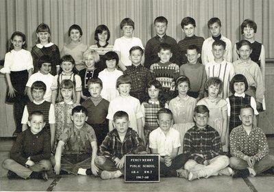 Percy W. Merry School, Grade 4, 1967-68