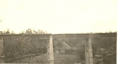 New Dundas Street Twelve Mile Creek Bridge with Old Bridge Behind