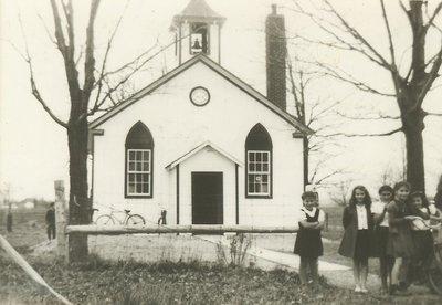 Snider's School, S.S. No. 4, Trafalgar Township