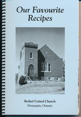 Fundraising Cookbooks of Bethel United Church, Drumquin