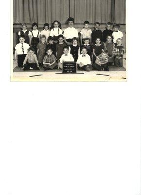 Palermo Public School, 1967-1968, A.M. Kindergarten Class