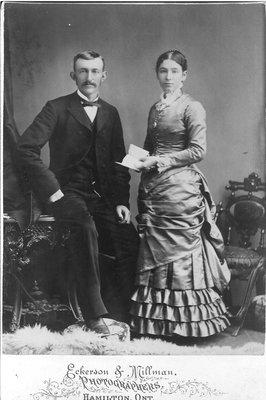 Albert Anson Bigger and Henrietta Almira (Munn) Bigger, 1883