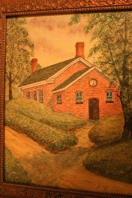 Painting of Merton School, S.S. #15