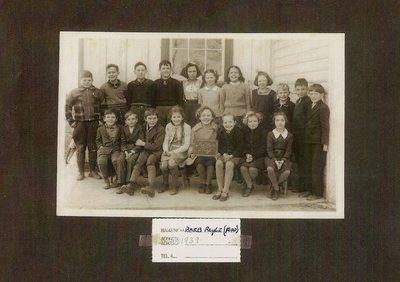 S.S. #4, Snider's School, 1939