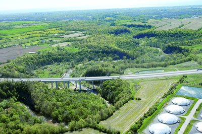 2005 Aerial Photographs, Near Halton Region Biosolids Management Centre