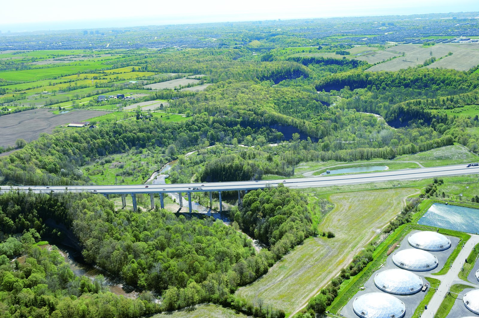 2005 Aerial Photographs, Near Halton Region Biosolids Management Centre