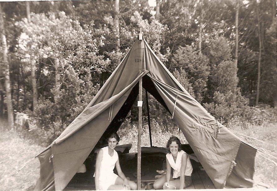 Oakville Recreation Commission Day Camp Leadership Training at Fisher's Glen, Lake Erie, June 25-July 1, 1959